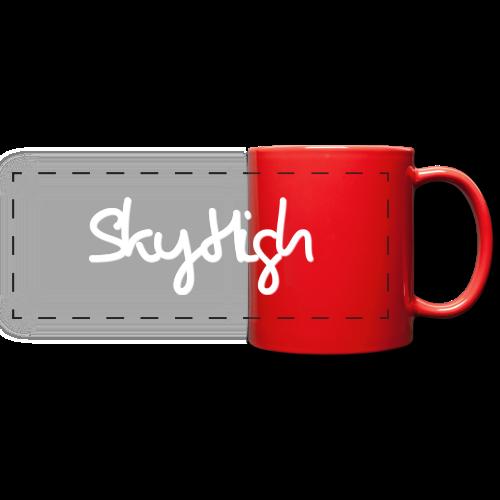 SkyHigh - Snapback - (Printed) White Letters - Full Color Panoramic Mug
