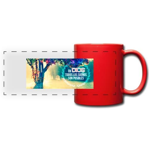 TAZA MENSAJE - Taza panorámica de colores