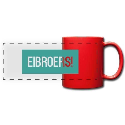 T-shirt Eibroers Naam - Panoramamok gekleurd