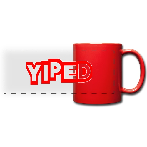 FIRST YIPED OFFICIAL CLOTHING AND GEARS - Full Color Panoramic Mug