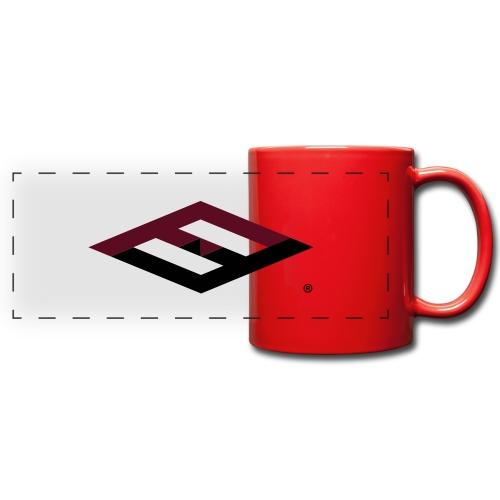 farfuture logo tshirts - Panoramatasse farbig