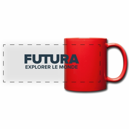 Futura Explorer le monde - Mug panoramique uni