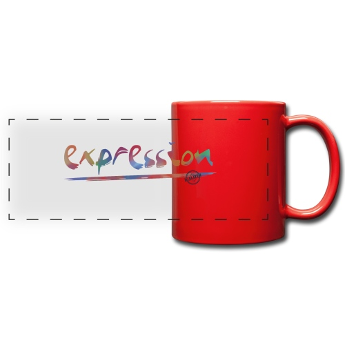 Expression typography - Full Color Panoramic Mug