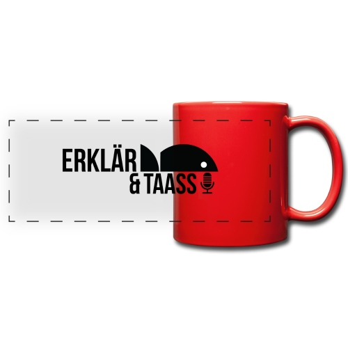 Erklär&Taass - Full Color Panoramic Mug