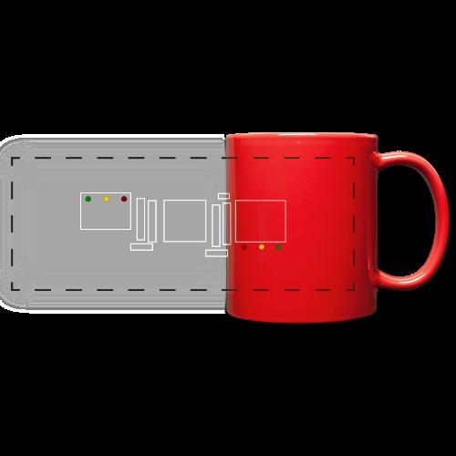 Rasta Chenille - Mug panoramique uni