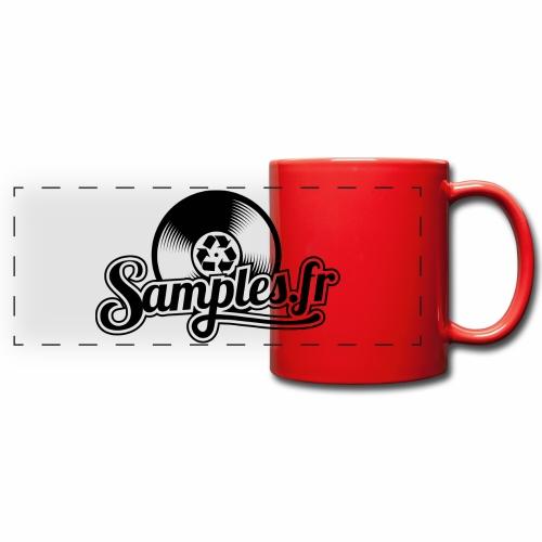 Gris / Noir (H / F) - Mug panoramique uni