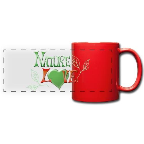 Nature Love - Panoramatasse farbig