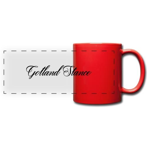 Gotland Stance Svart - Färgad panoramamugg
