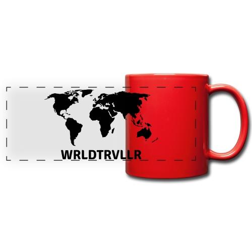 Worldtraveller - Panoramatasse farbig
