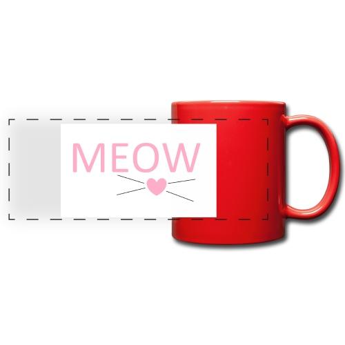 MEOW - Kolorowy kubek panoramiczny