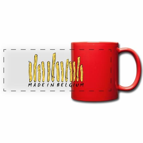 Made In Belgium Frites - Mug panoramique uni