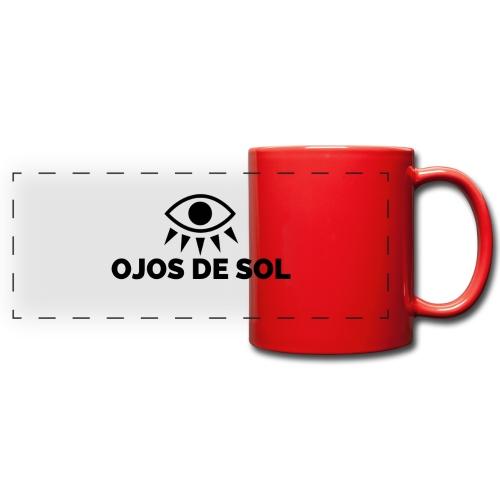 Ojos de Sol - Taza panorámica de colores