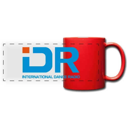 International Dance Radio - Taza panorámica de colores