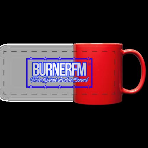 BurnerFM Hier Sürst du den Sound - Panoramatasse farbig