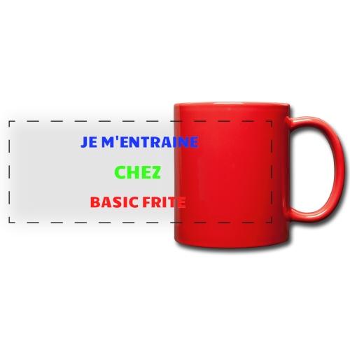 Basic Frite - Mug panoramique uni
