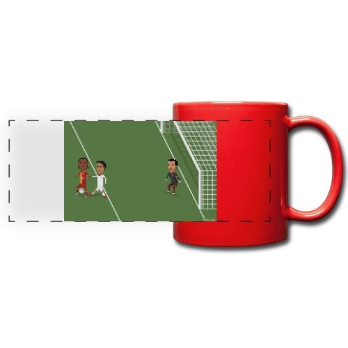 Backheel goal BG - Full Color Panoramic Mug