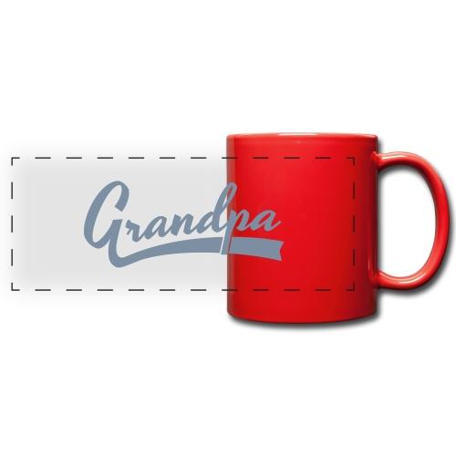 Grandpa text - Panoraamamuki värillinen