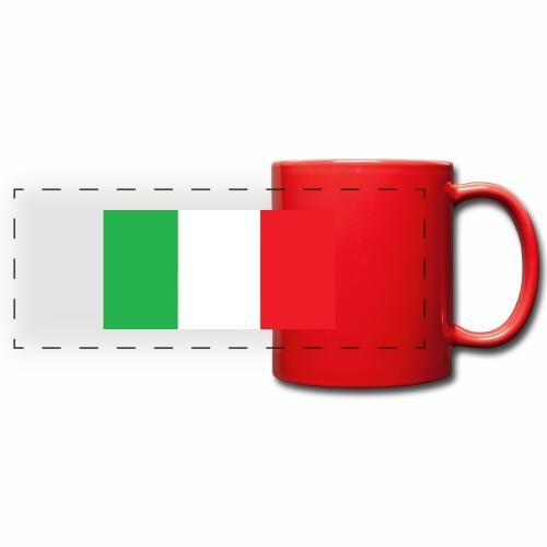 Italien Fußball - Panoramatasse farbig