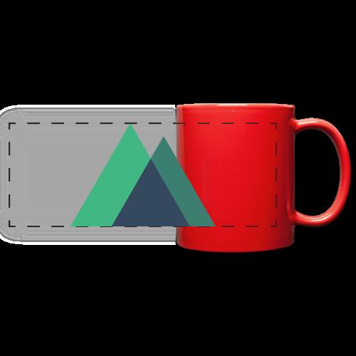Mountain Logo - Full Color Panoramic Mug