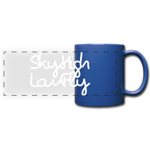 SkyHighLowFly - Bella Women's Sweater - White - Full Color Panoramic Mug