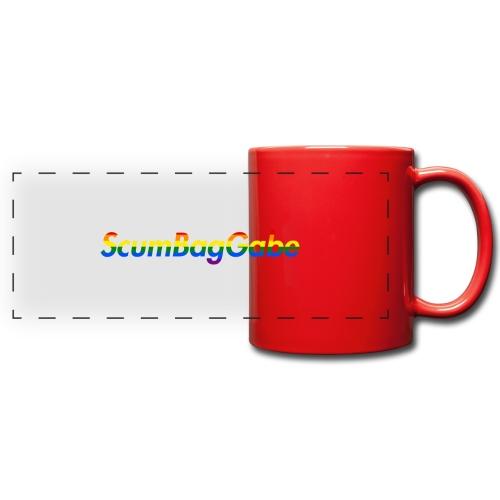 ScumBagGabe Multi Logo XL - Full Color Panoramic Mug