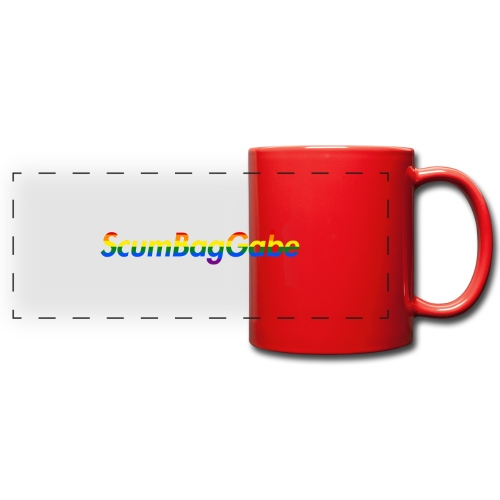 ScumBagGabe Multi Logo XL - Full Color Panoramic Mug