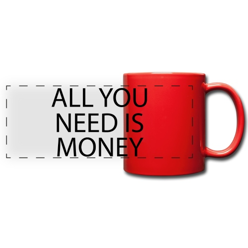 All you need is Money - Panoramakopp i farge