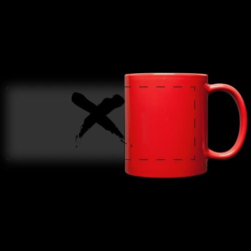 x - Tazza colorata con vista