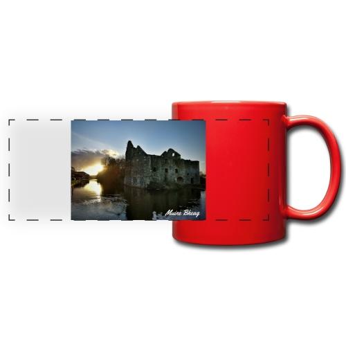 Rudkin's Mill, Bagenalstown - Full Color Panoramic Mug