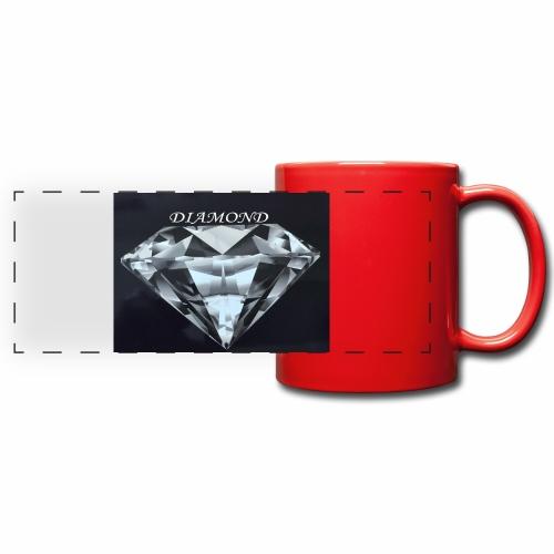 Diamond - Färgad panoramamugg