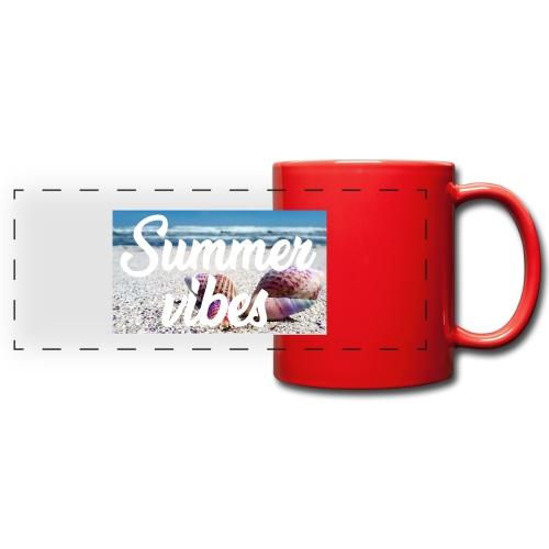 Summervibes - Panoramatasse farbig