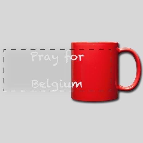 Pray for Belgium - Mug panoramique uni