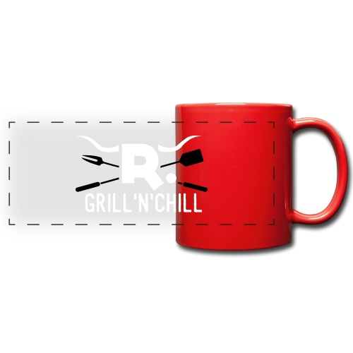 grillchill - Panoramatasse farbig