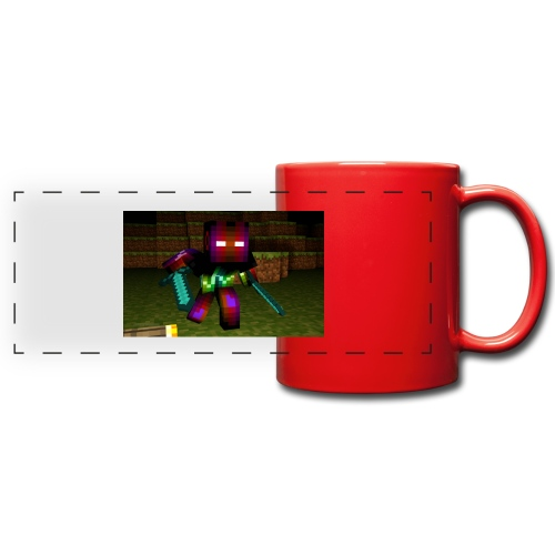 AwesomeSauce Minecraft 2 Swords - Full Color Panoramic Mug
