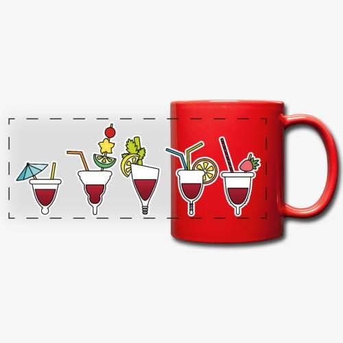 Soirée cuptails - Mug panoramique uni