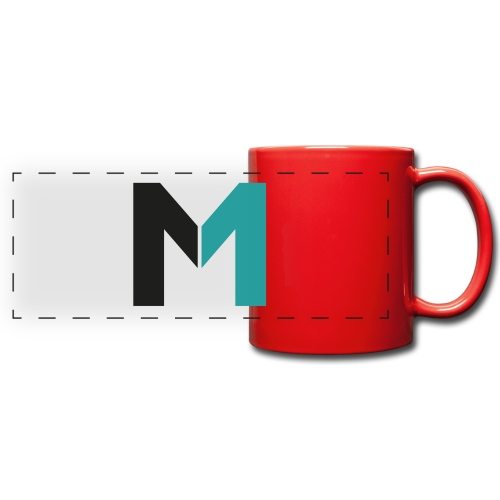 Logo M - Panoramatasse farbig