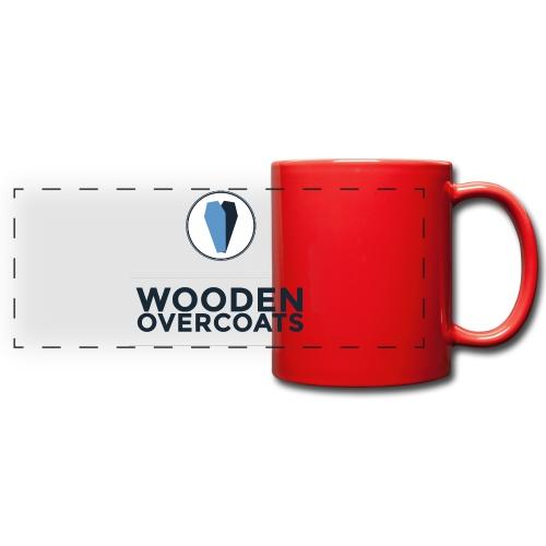 Wooden Overcoats Logo Mug - Full Color Panoramic Mug