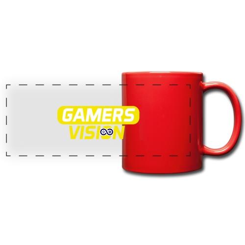 GamersVisionlogogeel - Panoramamok gekleurd