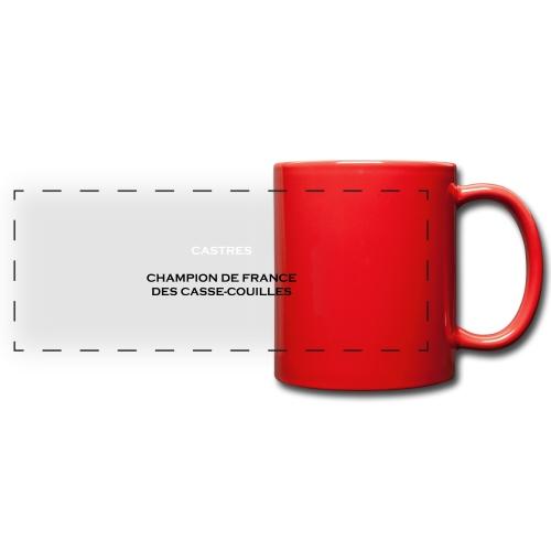 design castres - Mug panoramique uni