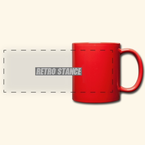 Retro Stance - Full Color Panoramic Mug