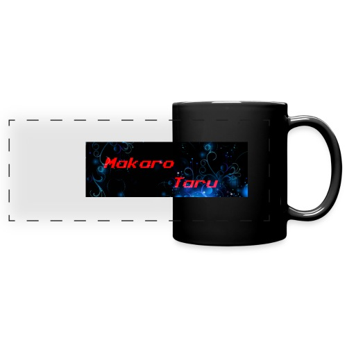 blue graphic sdvsv0 png - Mug panoramique uni