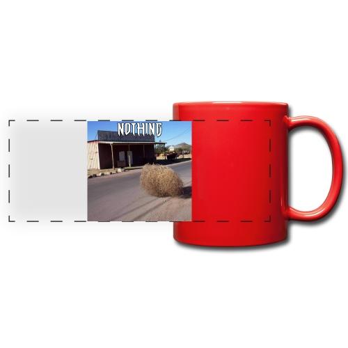 NOTHING - Mug panoramique uni