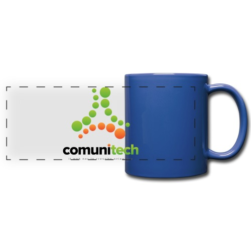Comunitech - Tazza colorata con vista