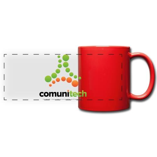 Comunitech - Tazza colorata con vista