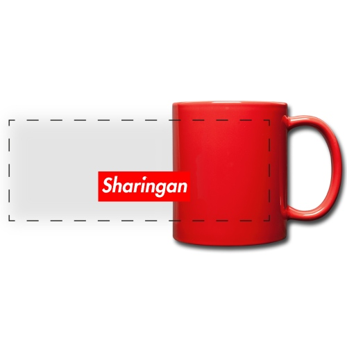 Sharingan tomoe - Mug panoramique uni