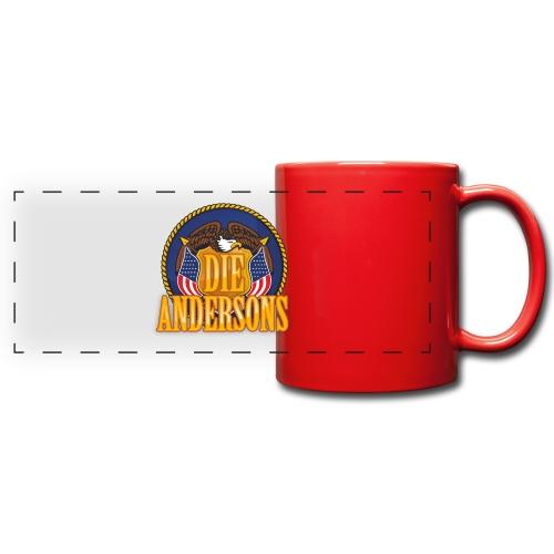 Die Andersons - Merchandise - Panoramatasse farbig