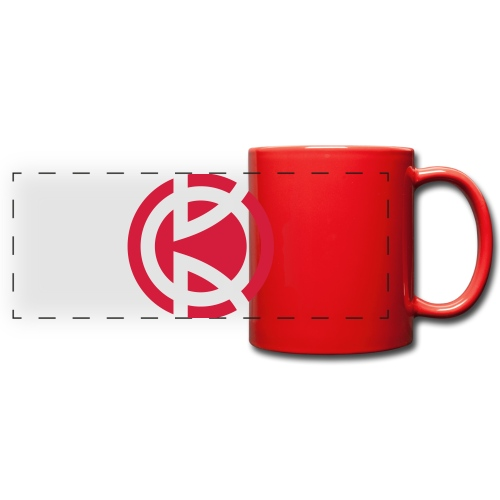 Kitbliss logo - Full Color Panoramic Mug
