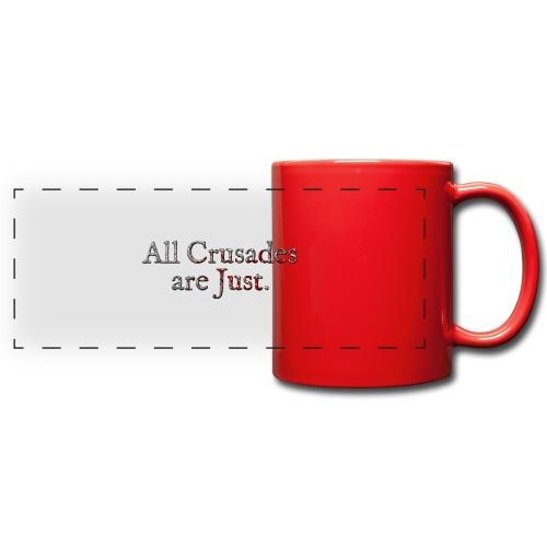 All Crusades Are Just. Alt.2 - Full Color Panoramic Mug