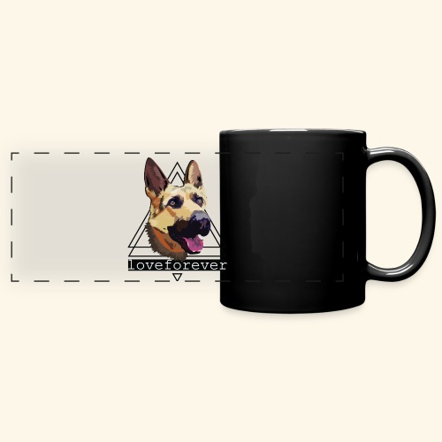 SHEPHERD LOVE FOREVER - Taza panorámica de colores