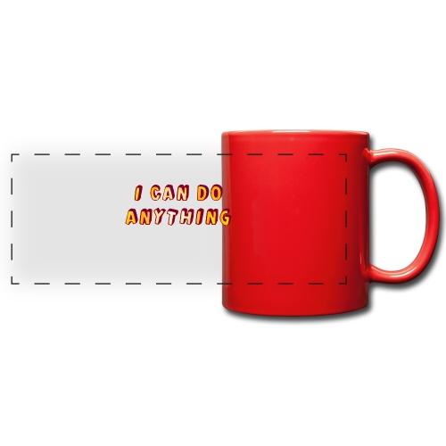 I can do anything - Full Color Panoramic Mug